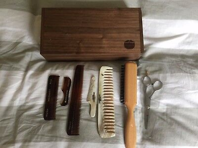 Beardbrand Beardman's Beard and Moustache Grooming Kit plus extra horn combs LOT