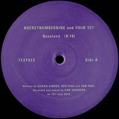 "12"": Rocketnumbernine And Four Tet - Roseland - Text Records - Text023"