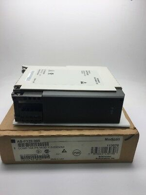 New Schneider Automation Modicon AS-P120-000 Power Supply Module ASP120000