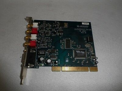 M-Audio Audiophile 24/96 Computer 4-In 4-Out Audio Card 24-bit/96kHz 2496 Midi