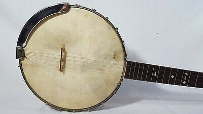 Antique Unmarked 5 String Banjo Playable Condition Very Nice!