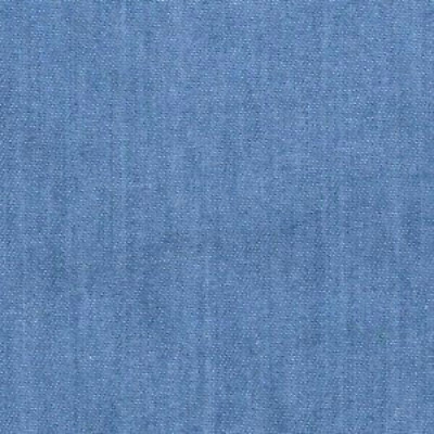 Light Shade 4oz Lightweight Washed Blue Denim Quilting Craft Cotton Fabric Thin