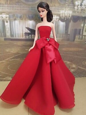 Red ball gown for Silkstone and other fashion dolls