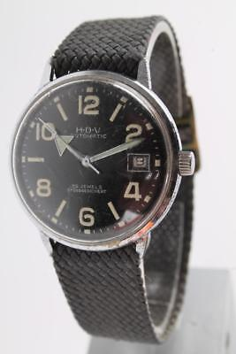 HDV Automatic 60er J Fliegeruhr Pilotenuhr Militär Armbanduhr Air Force Military