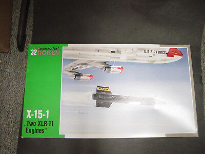 North American X-15-1 with two XLR 11 Engines Special Hobby 1/32