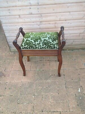 Victorian Piano Stool Buyer To Collect Will Not Post.arrange Own Courier.