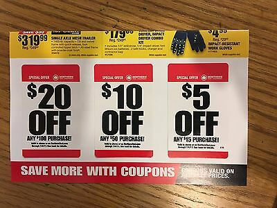 photo about Northern Tool Coupon Printable called Northern instrument printable coupon 2019