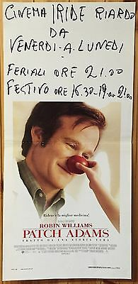 LOCANDINA Patch Adams con Robin Williams - J764