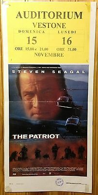 LOCANDINA The Patriot con Steven Seagal - J88