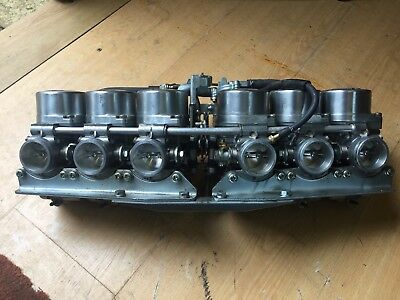 Honda cbx1000  set of carbs Carburetors 1981 unused on the road from school bike