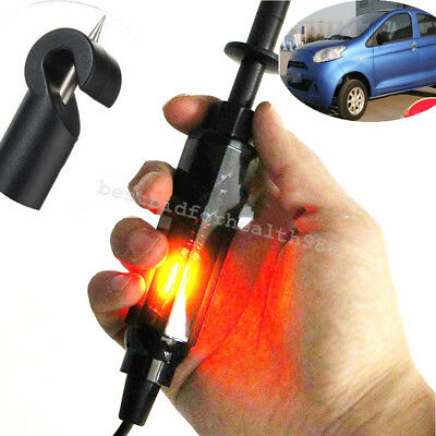Circuit Tester DC 6V/12V/24V Test Pencil Light Hook Probe Car Truck Motorcycle