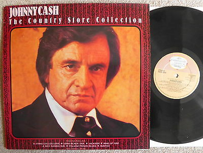 Johnny Cash The Country Store Collection 1988 Busted Jackson Ring Of Fire Etc Ex