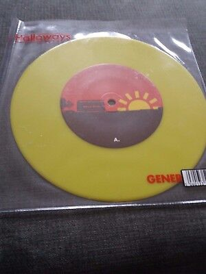 "The Holloways - Generator 7"" Yellow Vinyl 2006"