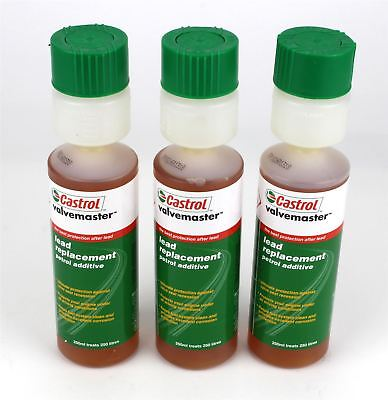 Castrol Valvemaster Lead Replacement Petrol Additive 3 Pack