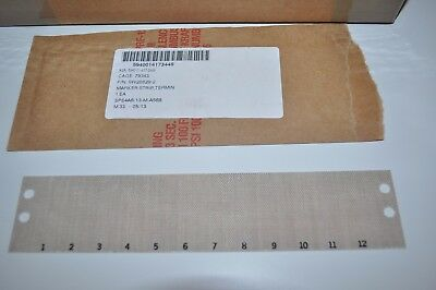 Lot of 230 12-Pos Terminal Block Marker Strips Part# SW28829-2  5940-01-417-3449