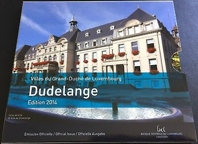 LUXEMBOURG Portfolio DUDELANGE with 9 values (FDC) with cover