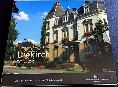 LUXEMBOURG Portfolio DIEKIRCH with 10 values (FDC) with cover protective