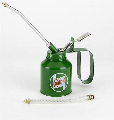 Castrol Classic Oil 200mL Metal Oil Jug Pourer Pump