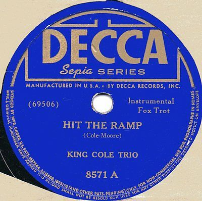 "78er Swing Jazz King Cole Trio ""Hit The Ramp"""