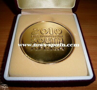 Spain National Team Fifa World Cup South Africa 2010 Gold Medal