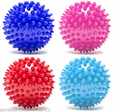 TnP® 6CM Massage Ball Roller Trigger Point Yoga Therapy Spiky Balls Spikey