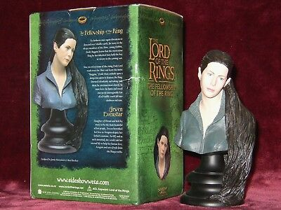 Sideshow Lord of the Rings Arwen Evenstar 1/4 Scale Polystone Bust