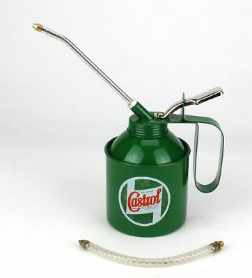 Castrol Classic 500ml Vintage Oil Can Pump Lever