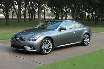2013 Infiniti G 37S Sport Coupe CPO Certified Warranty Perfect Carfax Navigation Heated Sport Seats Moonroof CPO Warranty
