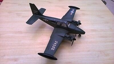 Dinky Collection. Beechcraft C55 Baron Us Army Military Aircraft.