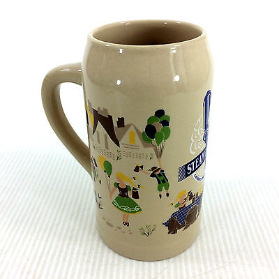 Steam Whistle Beer Stein Tall Ceramic Mug Extra Large 1L Canadian Craft Brewery