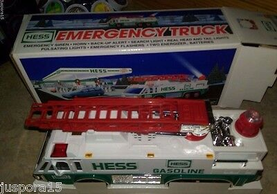 1996 Hess Emergency Truck w/ Lights And Sounds