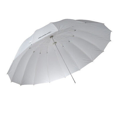 Westcott 7ft White Diffusion Parabolic Umbrella
