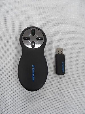 Kensington Model 33373 2.407GHz Wireless Presenter Remote Control PowerPoint etc