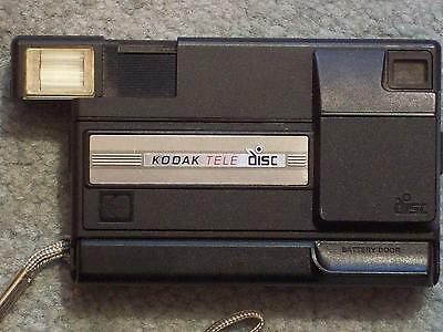 "Kodak Tele Disc Camera ""not Working"" Sticker 8/7/96 Gold Film 15 Exp Disc Inside"