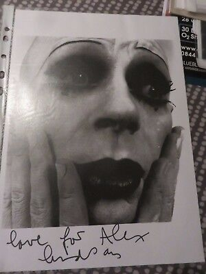 David Bowie - Lindsay Kemp - Dancer - A4 signed b/w photo - In person autograph