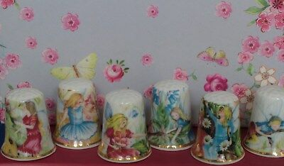 Thimble - Set of Six Fairy Thimbles