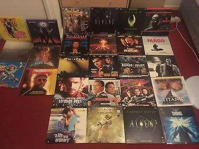 Laser Disc Collection 29 Films Most Brand New