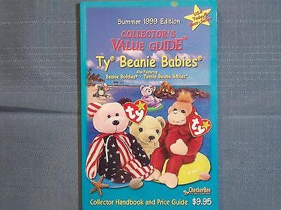 Beanie Babies Collector'S Value Guide Summer 1999 Edition Beanie Buddies Teenie
