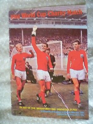 1966 World Cup Charity Match, 28th July (Excellent condition)