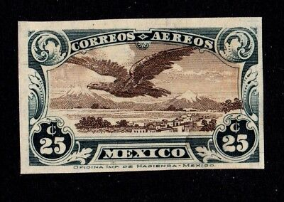 Mexico D. F. 1928 v rare Proof of C4 Eagle AirPost Stamp *only 225 copies exist*