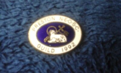 Preston North End Official Supporters Club Enamel Badge