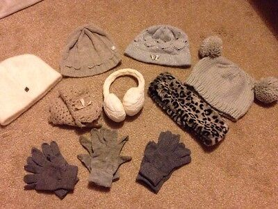 Ladies Winter Hat And Glove Bundle - 10 Items