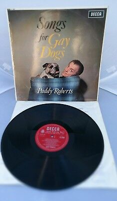 Paddy Roberts - Songs For Gay Dogs - Vinyl RARE