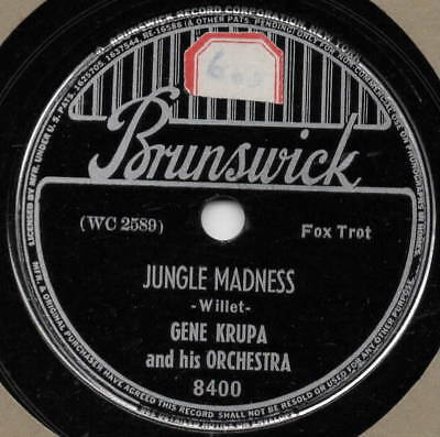 "78er Swing Jazz Gene Krupa Orchestra ""Jungle Madness"""