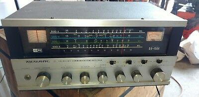 Realistic Solid State Shortwave Ham Communications Receiver DX-150A