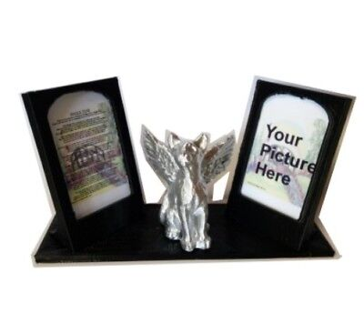 pet memorial Cat Picture plaque personalised