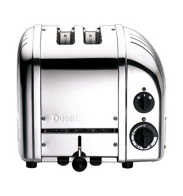 NEW Dualit DU02PNG NewGen 2 Slice Toaster - Polished Grey - RRP $419