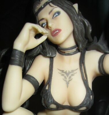 Black Tinkerbell Limited Edition Statue,Luis Royo,Yamato, 576/5000 Mint in Box