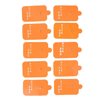 10X TENS Machine Replacement  Message Electrode Pads Self-Adhesive Reusable FO