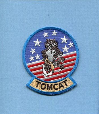GRUMMAN F-14 TOMCAT US NAVY Fighter Squadron Jacket Shoulder Patch